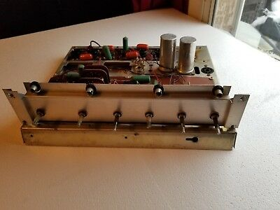 Heathkit Aa100 Stereo Tube Amplifier Chassis With Boards And Potts