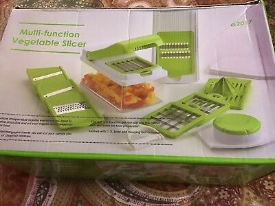 Slicer Dicer Vegetable Chopper Cutter Kitchen Food Tool Container Peeler NEW