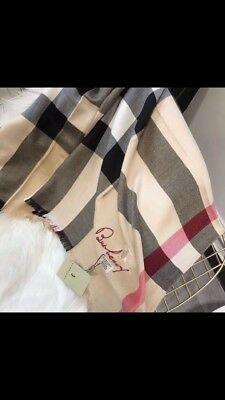 Burberry scarf new with tags beautiful and fast shipping
