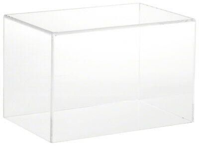"""Plymor Brand Clear Acrylic Display Case with No Base, 9"""" W x 6"""" D x 6"""" H"""
