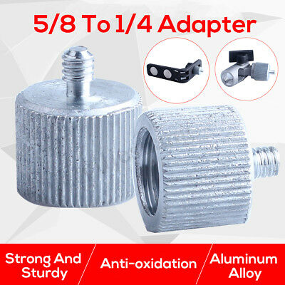 """5/8"""" Male to1/4"""" Female Screw Adapter Tripod Wall Mount Thread for Laser Level"""