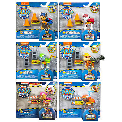 PAW Patrol Ultimate Rescue Construction Action Pack Pups CHOOSE YOUR FAVOURITE