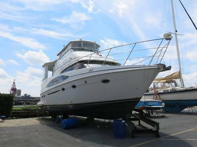 2003 Carver 466 Cabin Motoryacht boat cruiser yacht Clean Title Low reserve 03