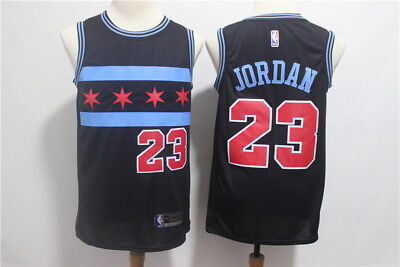 differently 643ea c1cff NEW MEN'S CHICAGO Bulls #23 Basketball Mesh jersey red-black Size: S - XXL