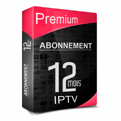 Iptv Pro Server Premium Quality - 12 Mois -  M3U Mag Android Pc Smart +9000Ch