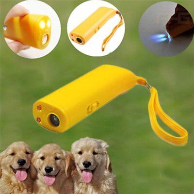 Anti-Bark Ultrasonic Aggressive Dog Pet Repeller Barking Stopper Trainning