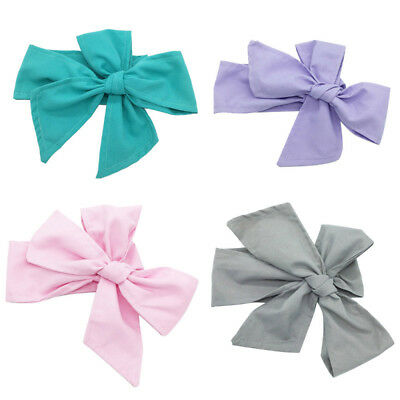 Children Kids Girls Baby Toddler Beautiful Large Bow Headband Hair Headwrap sffd