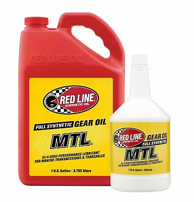 Red Line MTL 75W80 GL-4 Synthetic Manual Transmission Fluid