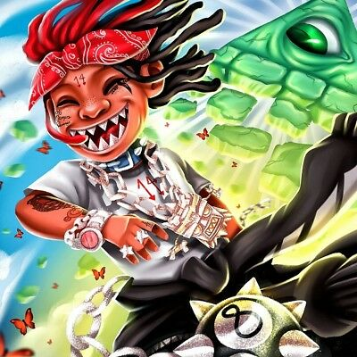 "Trippie Redd Love Letter To You 3 Poster Music Album Cover Print 12x12"" - 32x32"""