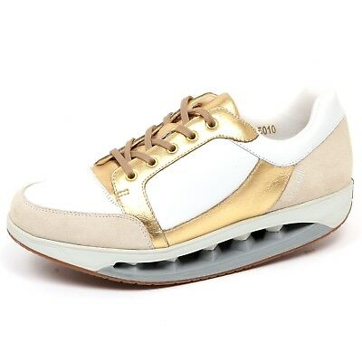 sports shoes cb2ca 6047a F3972 SNEAKER DONNA beige/gold/white SCHOLL STARLIT scarpe shoe woman
