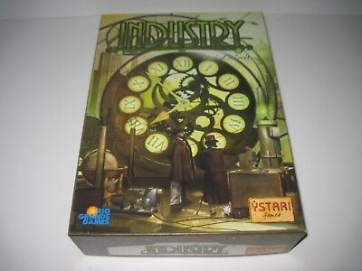 Industry Board game by Ystari 2010 excellent used un-punched condition