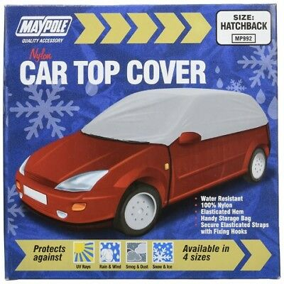 Maypole MP992 Water Resistant Car Cover Frost and Winter Protector, Grey, Medium