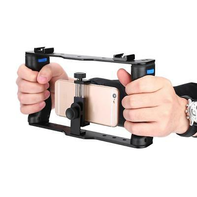 YELANGU DSLR Camera Video Cage With Top Handle For CellPhone Phone Clip SP