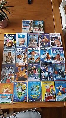 Job Lot 22 X Childrens Dvd Films U /g