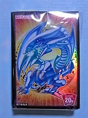 Yugioh Blue-Eyes White Dragon Sleeve Protector 20th Aniversary 10pcs