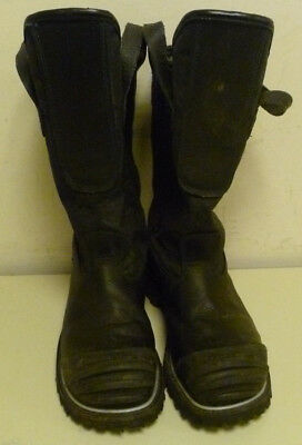 10 3E Honeywell Pro Warrington Black Leather Firefighter Boots 5006 5006SG L163