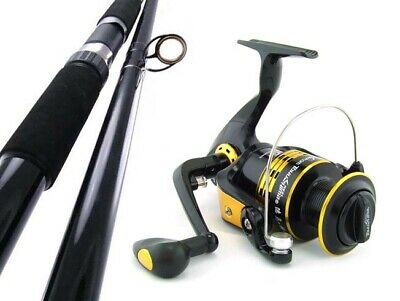 SAMBO SURF KING 15' 15kg Salmon Beach Rock Spinning Fishing Rod and Reel Combo