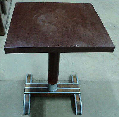 Antique Art Deco French Bistro Cafe Table
