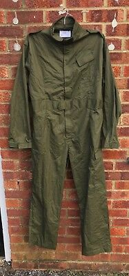 British Army Surplus G1 Green Cotton Coveralls,Boiler Suit,Overalls-Mechanic