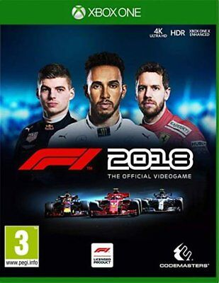 F1 2018 (Xbox One)  NEW AND SEALED - IN STOCK - QUICK DISPATCH - FREE UK POSTAGE