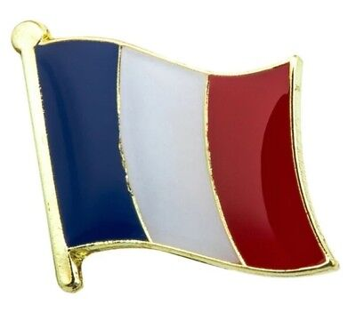 pin's france drapeau 1,5 cm X 1,5 cm