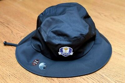 Official Team Europe Ryder Cup waterproof bucket hat made by Imperial.