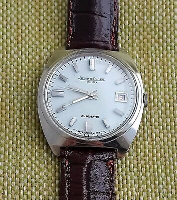 Jaeger Le Coultre  Automatic White Dial Nickel Plated Case 1960 Free Shipping !!