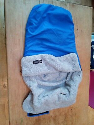 Out n About Footmuff blue fits Nipper