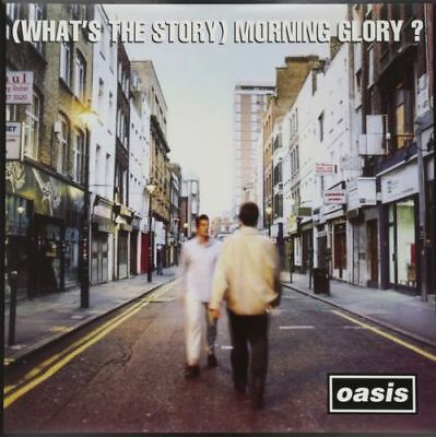 OASIS (What's The Story) Morning Glory 2 x 180gm Vinyl LP REMASTERED NEW SEALED