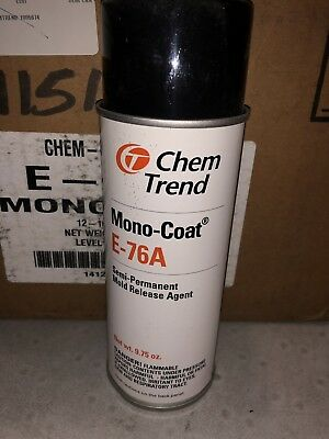 Lot Of 12 Chem Trend Mono-Coat E-76A