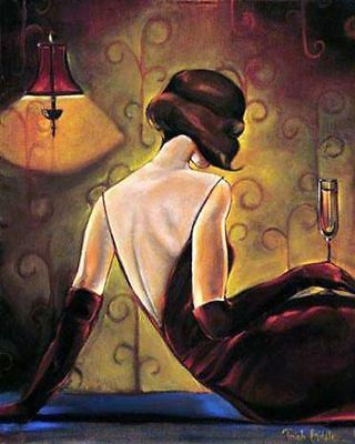 CHOP273 modern abstract sexy girl art hand-painted oil painting on canvas