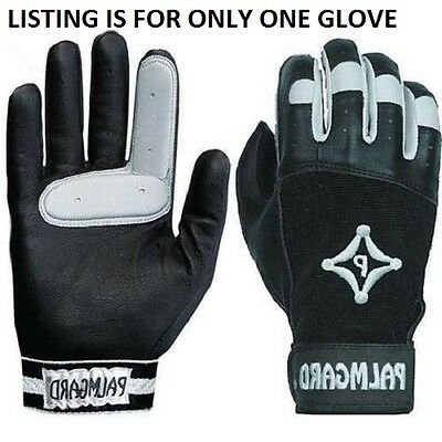 Palmgard PA-201 Protective Inner Glove Black/White Adult-L Right Hand