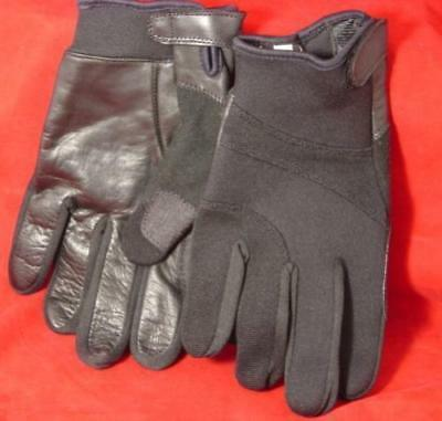 Perfect Fit Neoprene Tactical Gloves Kevlar Lined LARGE