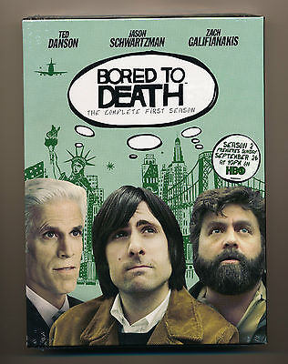 BORED TO DEATH: COMPLETE FIRST SEASON - NEW DVD 2-Disc Box Set SEASON 1 One