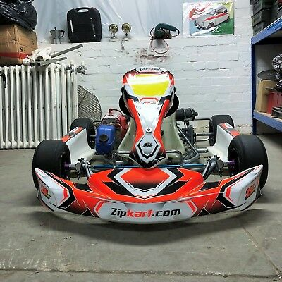 ZIP KART Cadet Go Kart - Completely New Rebuild with 60 cc Race Engine