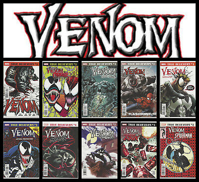 True Believers Venom: Carnage Spider-Man Lethal Protector #1 Choice Nm- Nm