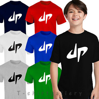 DUDE PERFECT DP Kids Top Adults Kids Unisex Youtuber You-tube Gift T-shirts