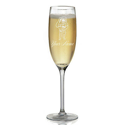 Personalized Champagne Glass - Astronaut