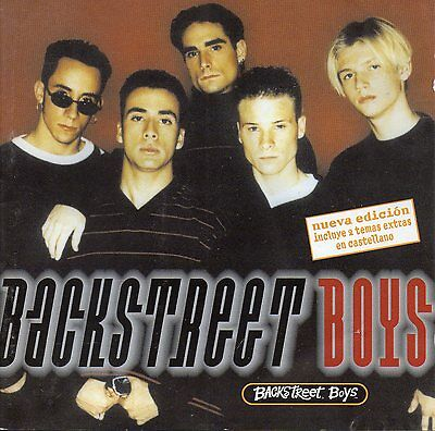 "Backstreet Boys ""backstreet Boys"" Rare Spanish Cd Edition +2Bonus Spanish Tracks"