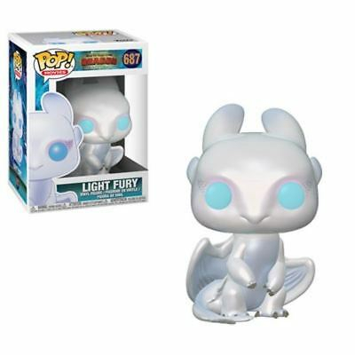 Funko POP! How To Train Your Dragon 3: Light Fury - Stylized Vinyl Figure 687