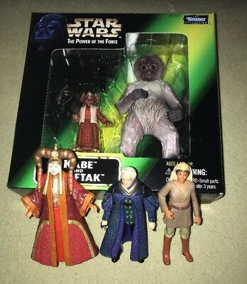 STAR WARS Original Figuren TPOTF Neu & Bespielt