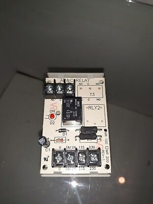 Simplex 2088-9008 MR100 AP&C Relay 24VAC Fire Alarm