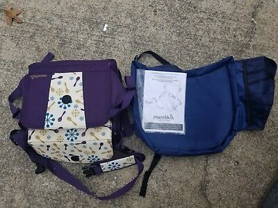 Munchkin BRICA GoBoost Travel Booster Seat Purple NEW