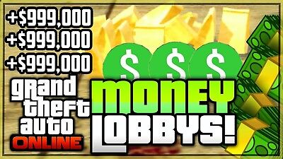 Gta5 Money/ Rank Lobby ps3/ps4