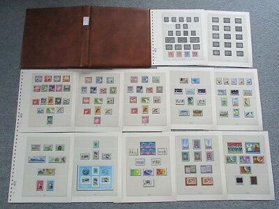 Nauru collection cpl. 1937-1998, 2005 kpl. Sammlung + Lindner postfrisch / **