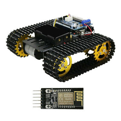 T101 Smart Robot Tank Chassis Tracked Car Platform Controled by Wifi (DT-06)