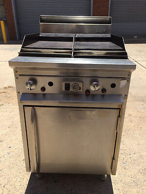 Hot plate grill, gas