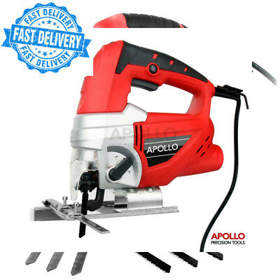 Hi-Spec Heavy Duty 600W Power Electric Jigsaw with Quick Blade-Change Safety...