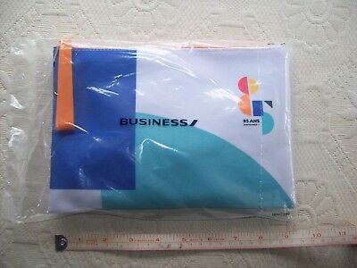 Air France  85 years   Amenities  Kit -  Business Class with Menu-  Sealed -
