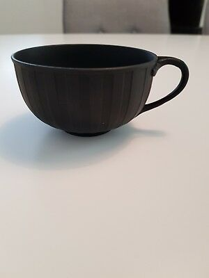 Wedgewood black Basalt Tea Cup 19th Century perfect condition.